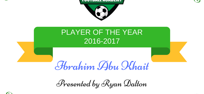 Player of the Year 2016-2017