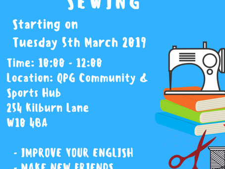 English Classes With Sewing