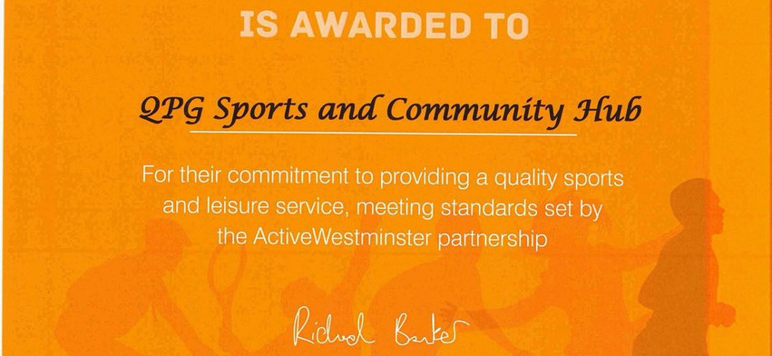 The Active Westminster Mark