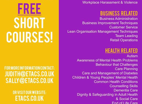 FREE NCFE/CACHE Courses!