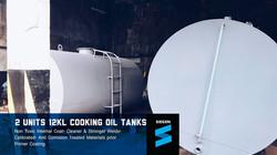 12,000 Liters Cooking Oil Storage