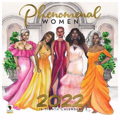Phenomenal Woman 2022 Wall Calendar