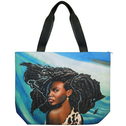 Fearfully and Wonderfully Made Canvas Handbag