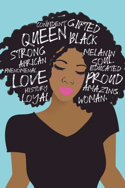 Dear Black Woman Small Notebook