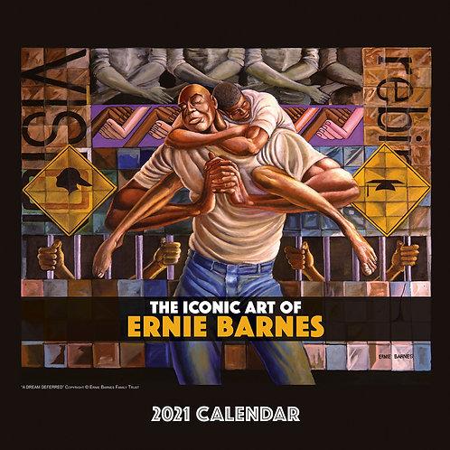 The Iconic Art Ernie Barnes 2021 Wall Calendar