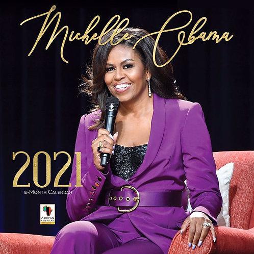 Michelle Obama 2021 Wall Calendar