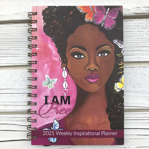I am FREE 2021 Planner