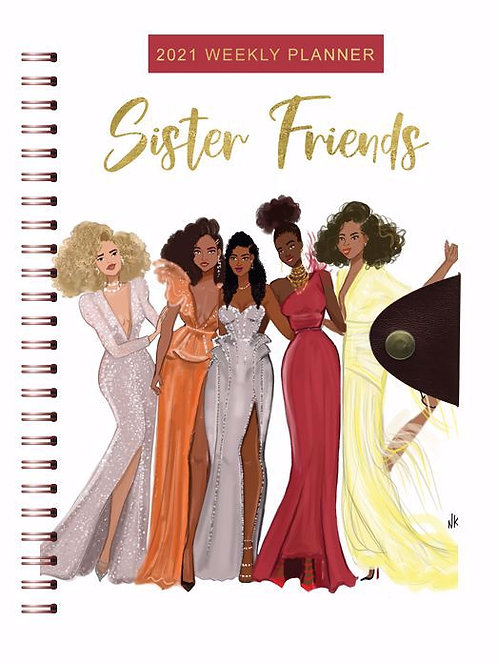 Sister Friends 2021 Planner