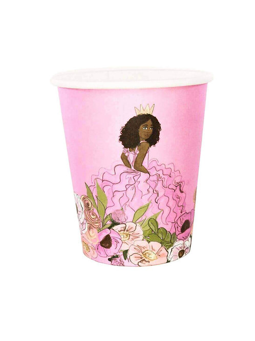 African American Swan Princess Party Cups