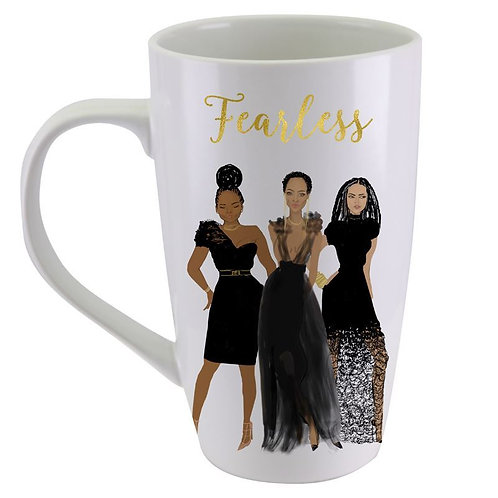FEARLESS Latte Mug