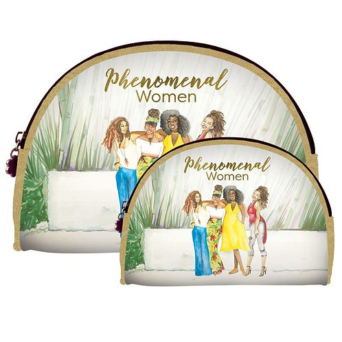 Phenomenal Women 2.0 Duo Cosmetic Bag