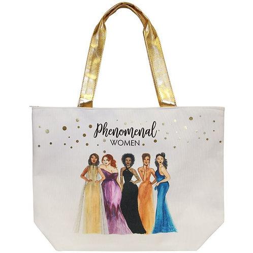 Phenomenal Women Canvas Handbag
