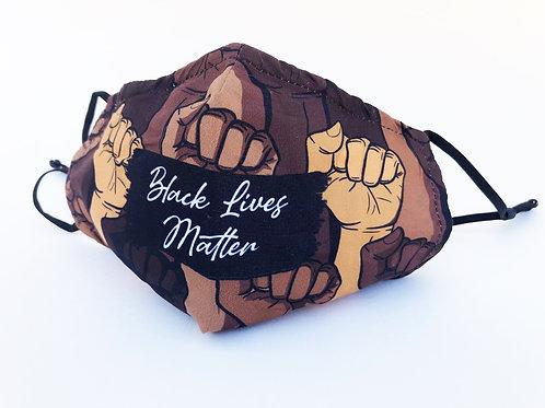 Black Lives Matter set of 2 face masks