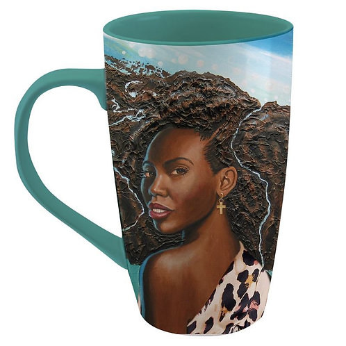 Wonderfully Made Latte Mug