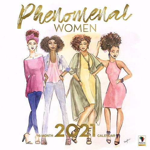 Phenomenal Women 2021 Wall Calendar