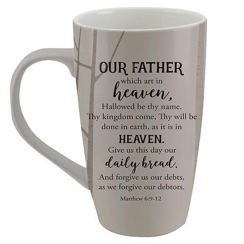 The Lords Prayer Latte Mug