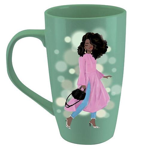 Wake Pray Slay Latte Mug