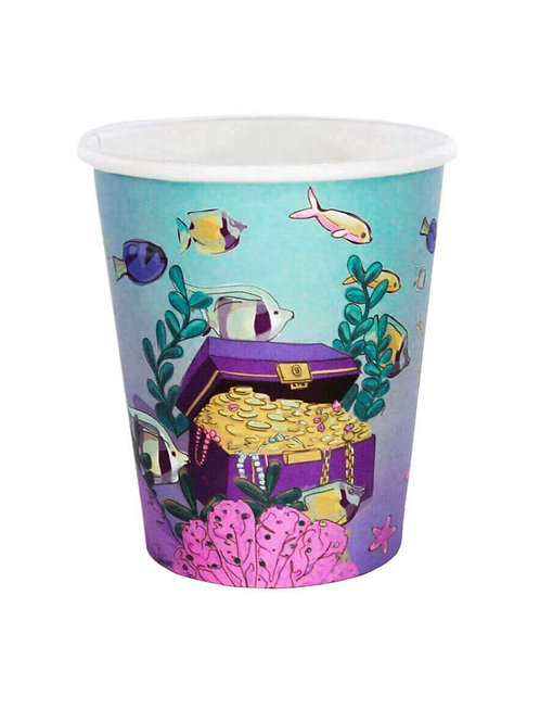 African American Mermaid Party Cups