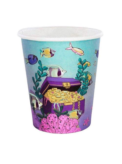 African American Mermaid Party Cups