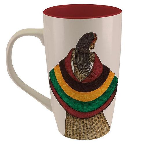 Living the Blessed Life Latte Mug