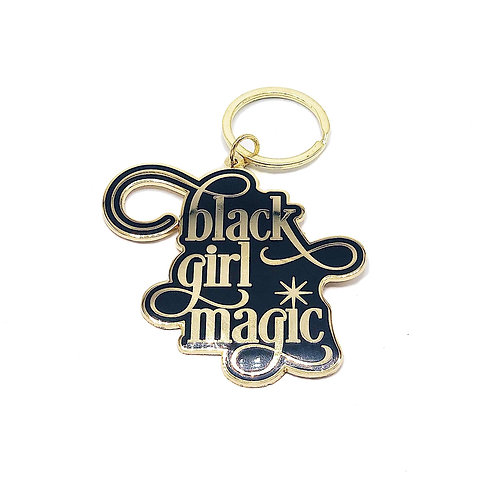 Black Girl Magic Key Chain