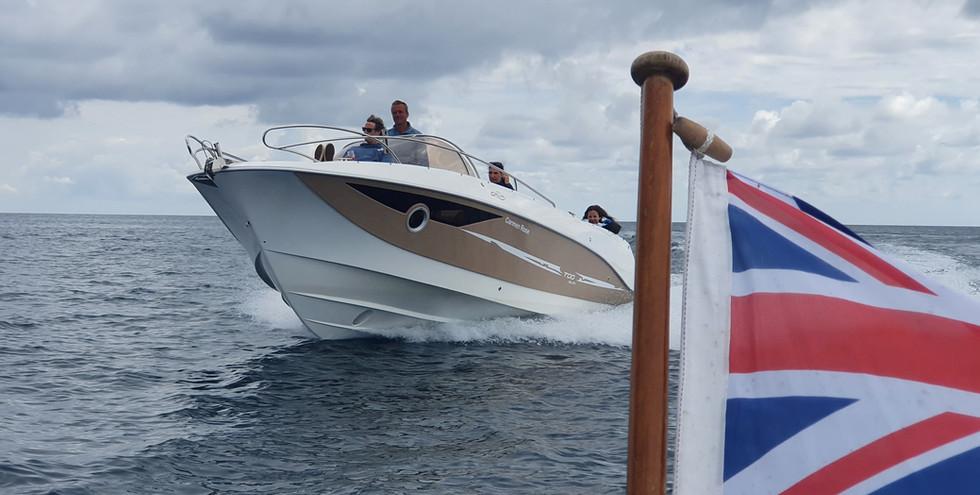 Luxury boat hire Cornwall