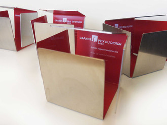 Gagnants de la septième édition de GRANDS PRIX DU DESIGN! / Winners of the 7th edition of the GRANDS