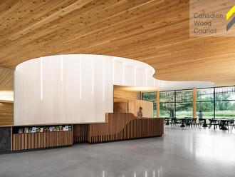 Primé aux Prix de la conception et construction en bois du Conseil Canadien du Bois / Awarded at the
