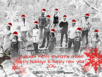 L'équipe de SVA vous souhaite de joyeuses fêtes!  SVA's team wishes you Happy Holidays!
