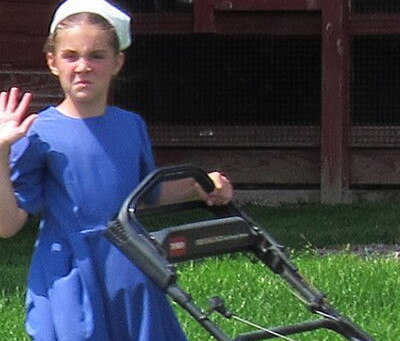 An Amish girl got hit in the face with a breakfast sandwich in Brooklyn. It was life changing.