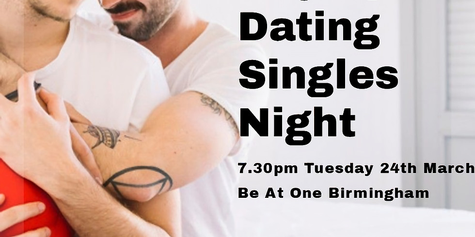 Gay Male Speed Dating Ages 24 - 45 (age approximate)