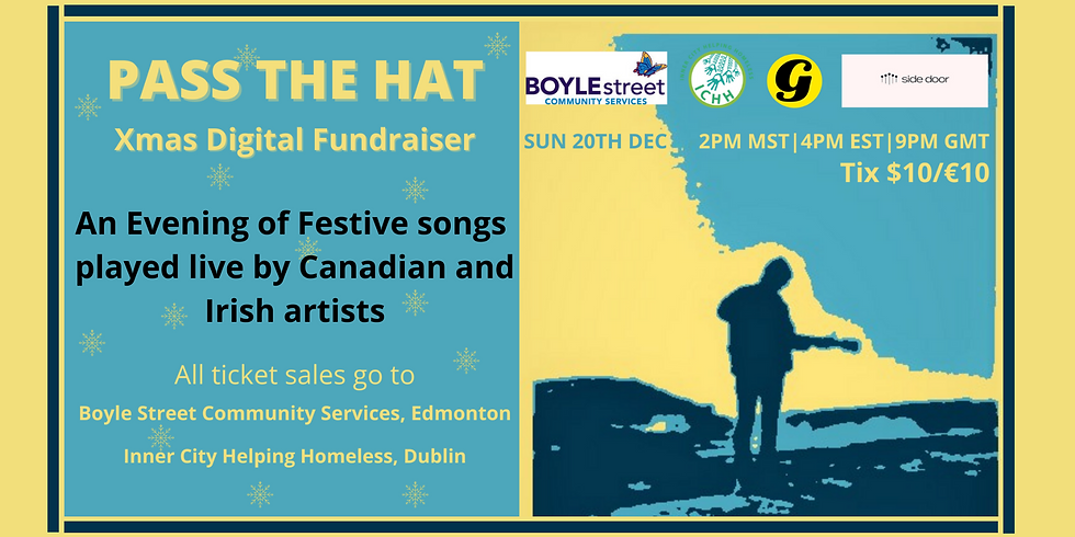 The Groovenor presents Pass The Hat Xmas Digital Fundraiser