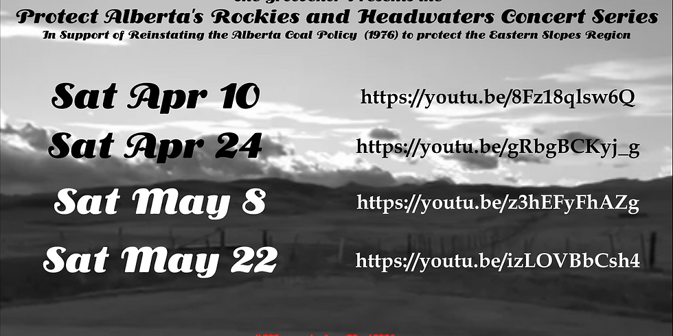 The Groovenor presents the Protect Alberta's Rockies and Headwaters Concert Series (2)