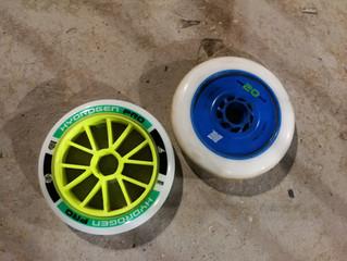סקירת ציוד: Rollerblade Hydrogen pro x-firm VS Matter one 20 five 125mm