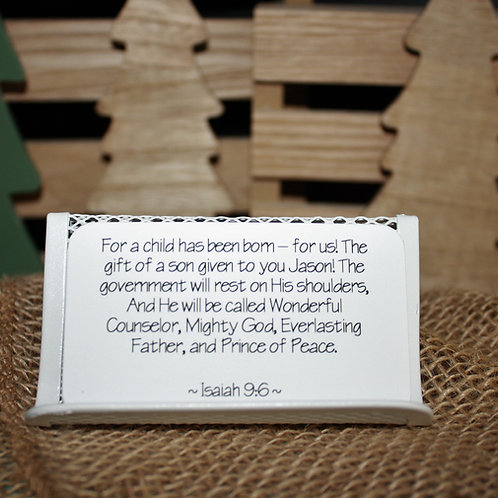 Scripture Cards - Advent: The Coming of Christ