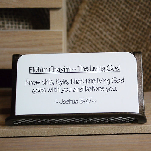 Scripture Cards - Names of God