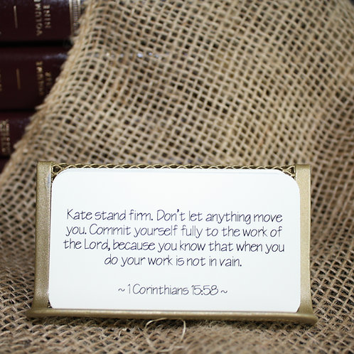 Scripture Cards - Wisdom for Life's Journey