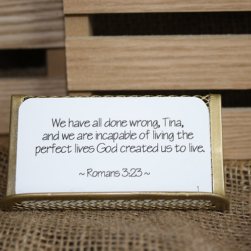 Scripture Cards - The Gospel Message