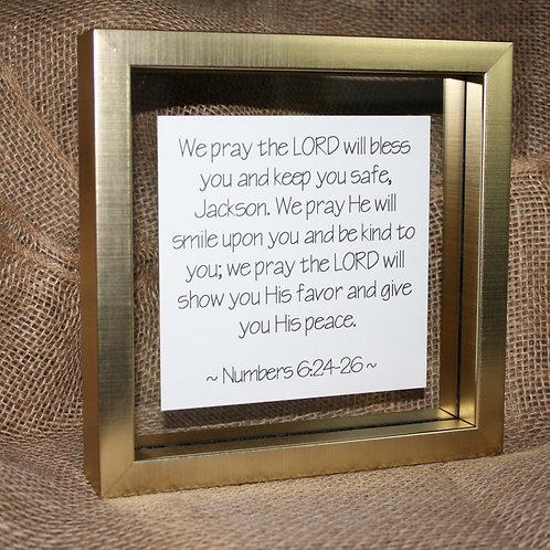Framed Scripture - Large