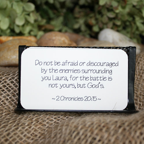 Scripture Cards - Be Anxious for Nothing