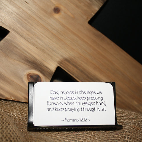 Scripture Cards - For a Father's Heart