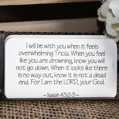 Scripture Cards - Promises of God