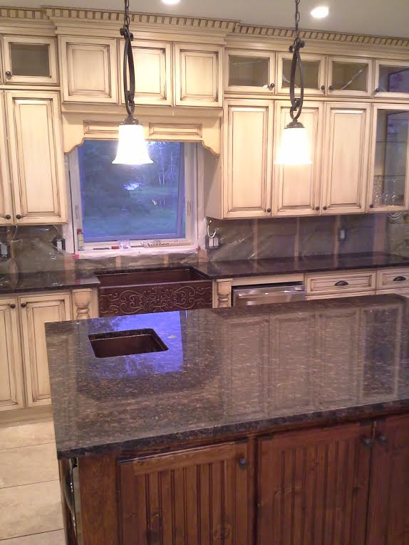 Tan Borwn Granite Countertops