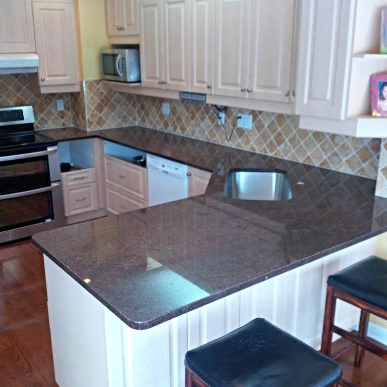 Coffee Brown Granite Countertops