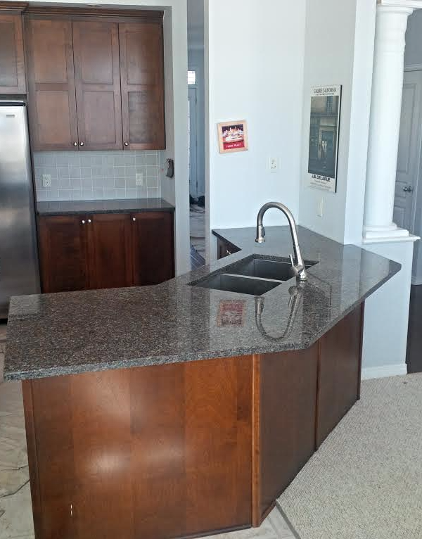 Deer Brown Granite Countertops