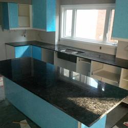 Volga Blue Granite Countertops
