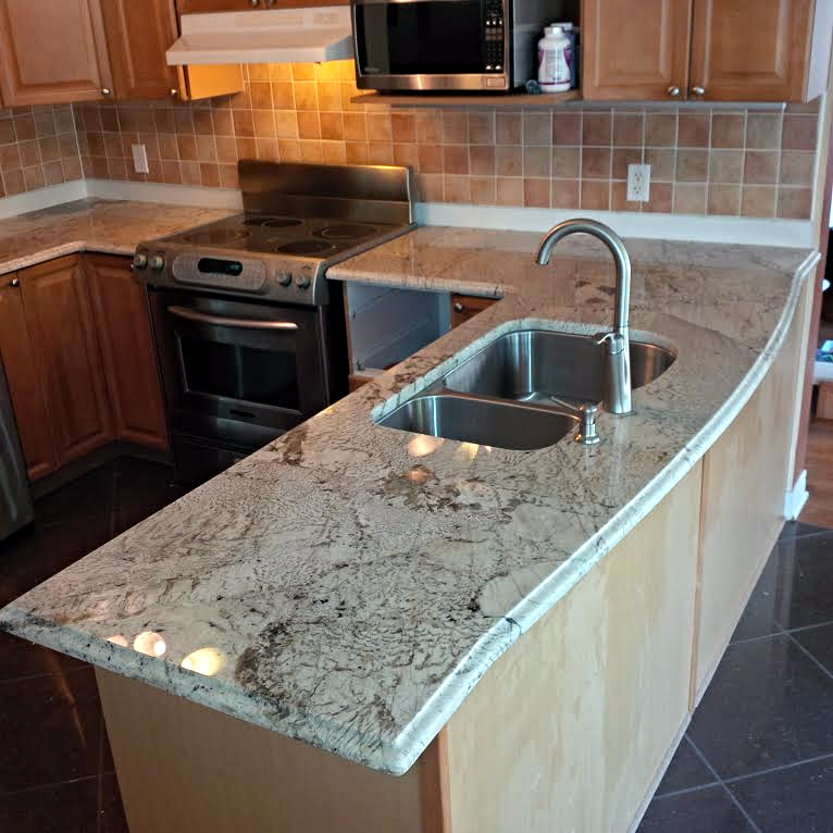 Exotic Granite Countertops Ogee Edge