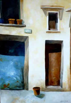 Casa 1 - House 1 - oil on canvas - cm 35x50