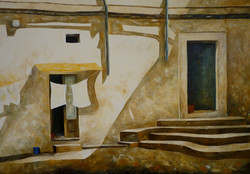 Sud Italia - Southern Italy - Oil on canvas - cm 70x100