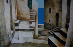 Luce Mediterranea - Mediterranean light - Oil on canvas - cm 100x150